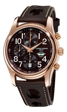 Men Watches : Frederique Constant Healey Chronograph Automatic Brown Dial Mens Watch 392CH6B4