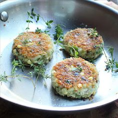 Cod fish cakes. The name sounds yucky and reminds me of Peter Pan, but the recipe sounds good.