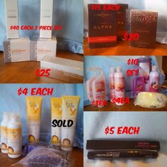 Selling brand new avon products ! This doesn't not including shipping contact me if your interested !