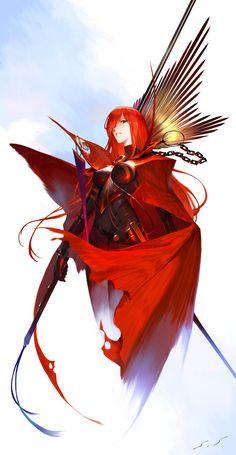 Anime Art Girl, Manga Girl, Manga Anime, Fate Zero, Fate Stay Night, Fantasy Characters, Female Characters, Character Concept, Character Art