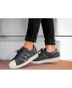 Adidas Superstar 80s W Utility Black Utility Black Off White Trainers Sale  UK Off White Trainers f1253bdaf