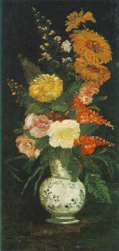 Vincent van Gogh: The Paintings (Vase with Asters, Salvia and Other Flowers)