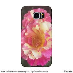Pink Yellow Roses Samsung Galaxy S6 Case