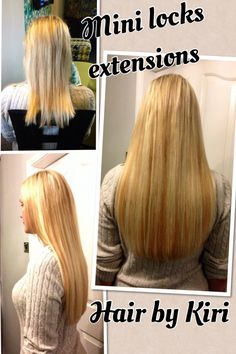 Mini locks hair extensions