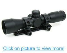 Ruger 10/22 Ruger 10 22 Black (Blued) 4x32 Range Finder Rifle Scope w/ Ruger 10/22 Scope Mount $ Rings
