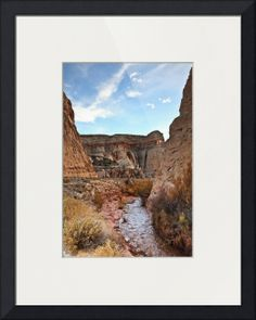 """""""A Drive Through The Park"""" by Beautifully Scene Images, Grafton // A road through Capitol Reef National Park in Utah. // Imagekind.com -- Buy stunning fine art prints, framed prints and canvas prints directly from independent working artists and photographers."""