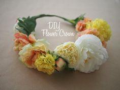結婚式、イベント、フェス、お祭り、パーティーなどで、一際目立てて可愛い「花冠/フラワークラウン」♥お店でも売っているけれど、とことん自分好みの色合い・お花を使って、手作りしてみませんか?お姫様気分になれる花冠の超簡単な作り方を3種類ご紹介します!仕上がりイメージ集も12点載せました♪