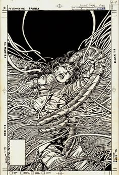 Wonder Woman #5 cover by George Perez
