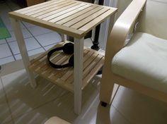 Table d'appoint simple et élégante avec MOLGER A découvrir sur http://www.bidouillesikea.com/bidouilles/sejour/table-dappoint-simple-et-elegante-avec-molger