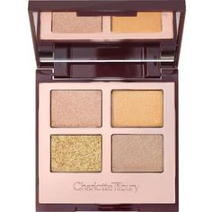 CHARLOTTE TILBURY Dreamy Look eyeshadow palette (195 RON) ❤ liked on Polyvore featuring beauty products, makeup, eye makeup, eyeshadow and palette eyeshadow