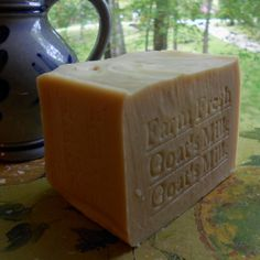 Goat's Milk Soap - Farm Fresh - Large Bar Goat's Milk #soap #GoatsMilkSoap