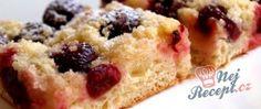 Recept Kynutý koláč s třešněmi a drobenkou French Toast, Breakfast, Food, Morning Coffee, Meal, Essen, Hoods, Meals, Morning Breakfast