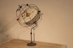 19th C. Astronomy Celestial Globe Orrery Planetarium Cinhelium Armillary Sphere   eBay