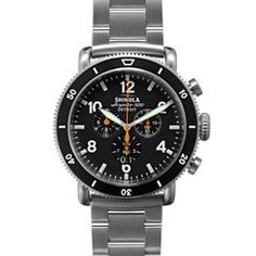This 48mm face watch is a really good product from a new American Company - Shinola.