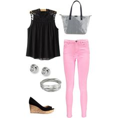 Cuteness by michellelhay on Polyvore featuring polyvore, fashion, style, Boohoo, H&M, FOSSIL and Whistles