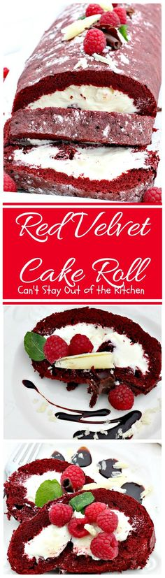 This traditional red velvet cake with ermine frosting is the - kuchen design de rosso velve kollektion