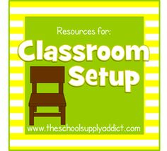 SO many great ideas for classroom set up and organization. Don't peek at this site unless you have HOURS to spend perusing and planning!