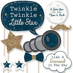 Twinkle Twinkle Little Star - Photo Booth Props Kit - 20 ... https://www.amazon.com/dp/B01MDRD9CE/ref=cm_sw_r_pi_dp_x_GXafybZWXR2FW