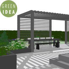 Pihasuunnittelu, pihasuunnitelma, GREEN IDEA