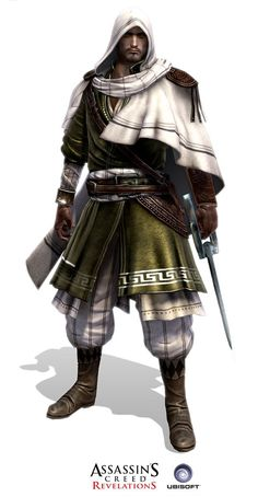 Assassin's Creed Revelation Templar agent the Sentinel