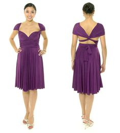 42c14c90a59 Charlotte - Twisted Cap Sleeve Style with Covered Shoulder Double Twist  Back  128  convertible