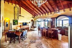 Luxury Home... #Roatan MLS 14-282 Elegance and craftsmanship combined with over 11,000 square feet of living make this perfect for buyers seeking value. This luxury home is the definition of move-in-condition. No detail has been overlooked. Every possible amenity is included. From top to bottom, this home was made with the highest quality material: