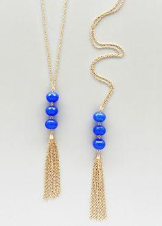 Triple Polished Periwinkle Quartz Necklace – Pree Brulee
