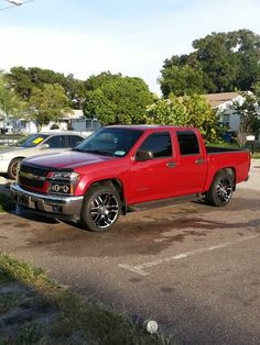 Chevy colorado 2005 rims and lights options for my truck