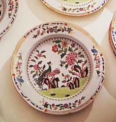 """LOT 17 Estate of Jacqueline Kennedy Onassis -Coalport """"Peacock Service"""" Porcelain Dinner Service, 1815-20. DETAIL: DINNER PLATE American First Ladies, John Fitzgerald, Jacqueline Kennedy Onassis, Creative Thinking, Dinner Plates, Peacock, Decorative Plates, Porcelain, China"""