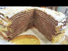 Argentina Food, Griddle Cakes, Crepe Cake, Mille Crepe, Pastry Recipes, Crepes, Pancakes, Muffin, Cooking