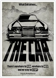 THE CAR movie-posters-car-drawings. Old Classic Cars, Classic Movies, Film Cars, Movie Cars, Famous Hollywood Movies, Oscar Best Picture, Good Old Movies, Custom Rat Rods, Lincoln