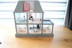 Modern poppenhuis