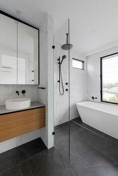 Wet Room Bathroom, Bathroom Renos, Laundry In Bathroom, Bathroom Layout, Small Bathroom, Teak Bathroom, Upstairs Bathrooms, Modern Bathroom Decor, Contemporary Bathrooms