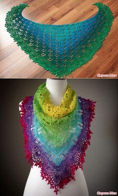 шали и шарфики