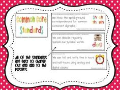 This packet includes everything you need to post the Common Core Standards you are working on in your classroom.  The packet includes 5 different c...