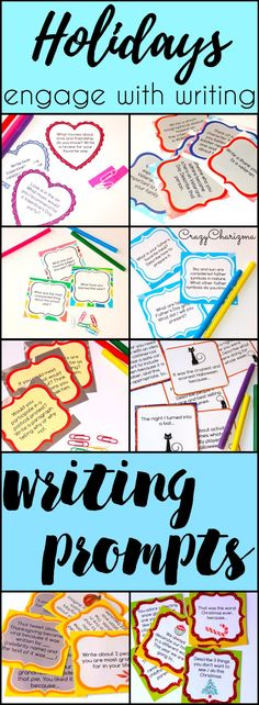 Get HOLIDAYS writing prompts of your choice! | CrazyCharizma