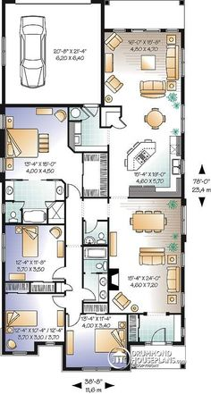 Casa plan W3250