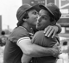 Johnny Bench and Tom Seaver