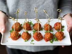 Classic Italian Turkey Meatballs recipe from Giada De Laurentiis via Food Network