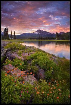 Columbine Island Sunset by ~Marc Adamus