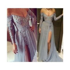 Pd12146 Charming Prom Dress,Off The.. ($168) ❤ liked on Polyvore featuring dresses and prom dresses