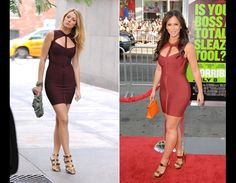 Who Wore It Better: Blake Lively and Jennifer Love Hewitt.