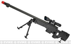 AW338 Airsoft Bolt Action Heavy Weight Sniper Rifle by UFC - Black (500 FPS)