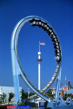 The Tidal Wave - Six Flags Great America. I can remember riding this so many times growing up.