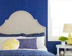 DIY Headboard Ideas | Carpeted Headboard | DIY Bedroom Decorating Ideas