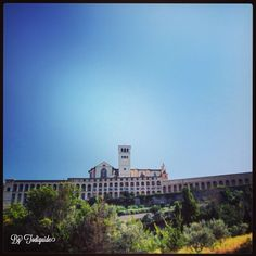 July 15th, guided tour of Assisi with American guests! 38 degrees, but always stunning!
