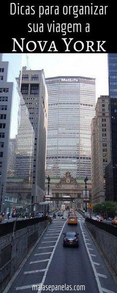 Dicas para organizar sua viagem a Nova York   Malas e Panelas