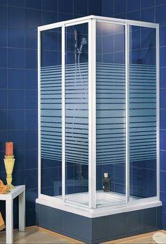 Schulte Schulte Duschkabine Sunny Eckeinstieg 2-teilig Echtglas Dekor