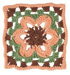 Stitchfinder : Crochet Block: Wildflower : Frequently-Asked Questions (FAQ) about Knitting and Crochet : Lion Brand Yarn