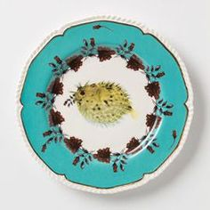 Blowfish Nature Table Plate